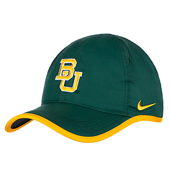 Baylor Bears Nike Featherlight Aerobill Cap