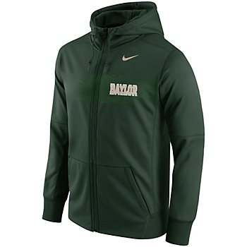 Baylor Bears Nike Therma Full-Zip Jacket