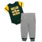 Baylor Bears Colosseum Infant Boys Long Run Football Onesie and Pant Set