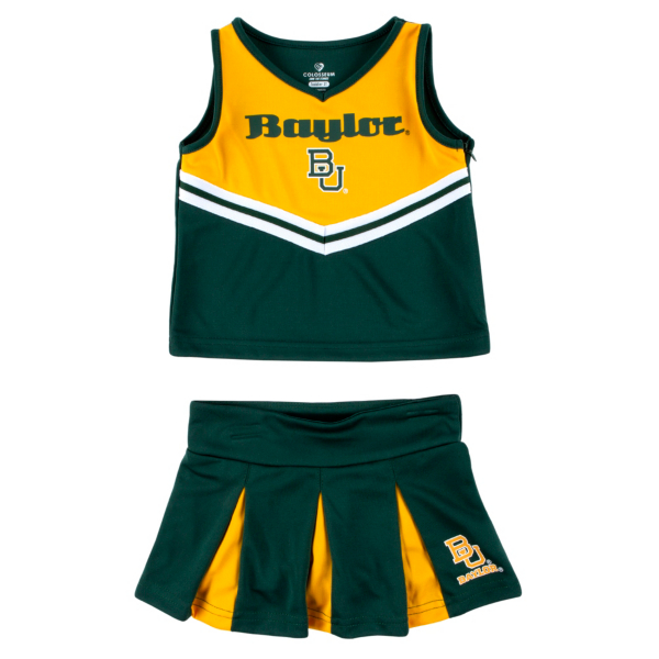Baylor Bears Colosseum Toddler Girls Pom Pom Cheer Set