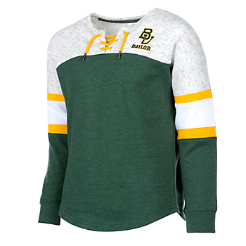 Baylor Bears Colosseum Girls Ice Box Pullover