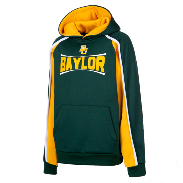 Baylor Bears Colosseum Youth Hook and Lateral Pullover Hoody