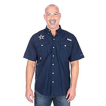 Dallas Cowboys Columbia Bahama Short Sleeve Shirt
