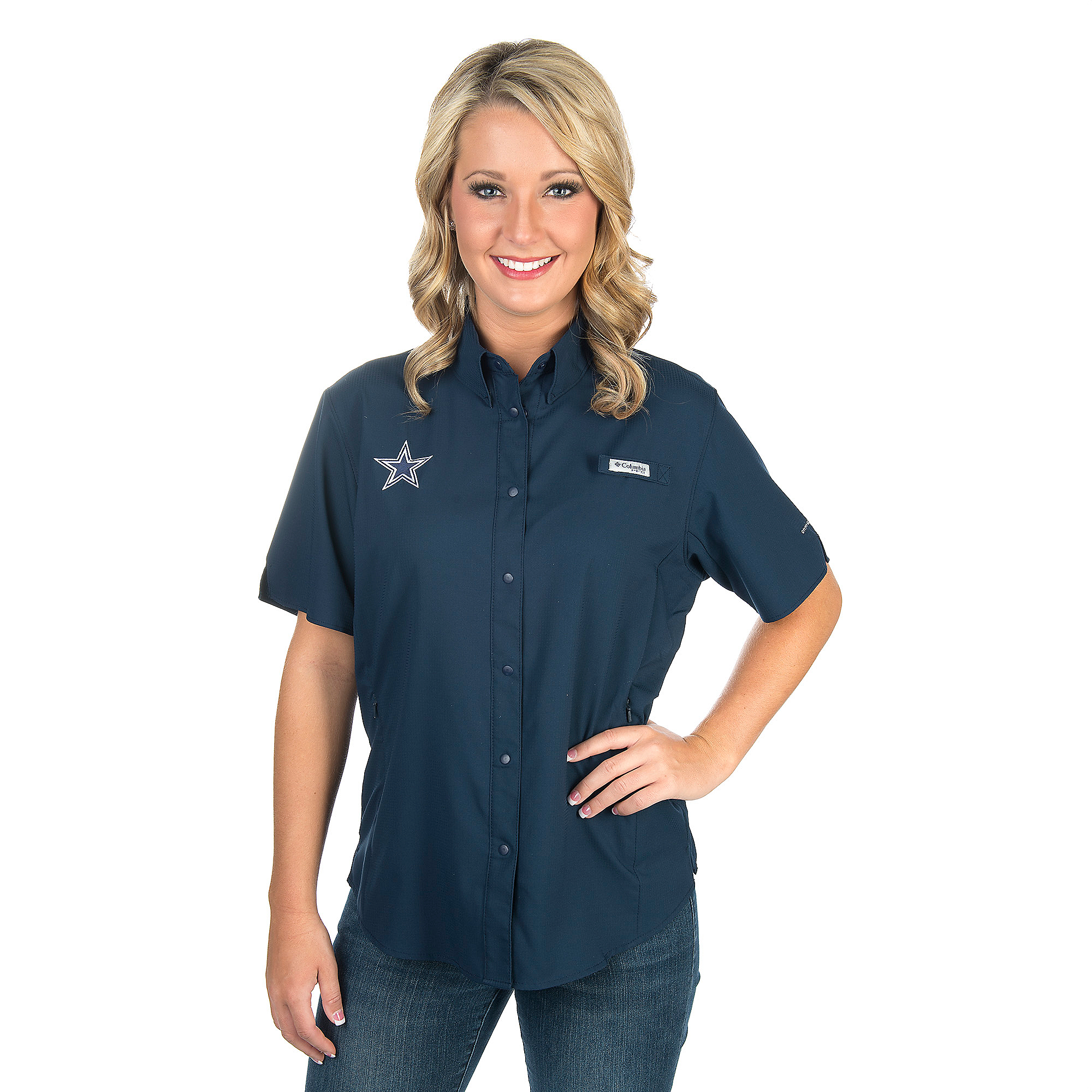 Dallas Cowboys Columbia Womens Tamiami Tee