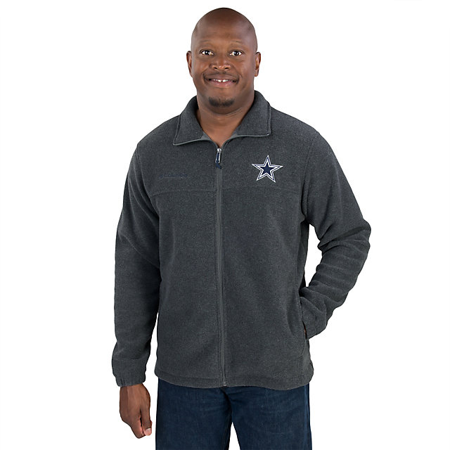Dallas Cowboys Columbia Flanker Fleece Full Zip Jacket