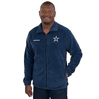 Dallas Cowboys Columbia Flanker Fleece Full Zip Jacket