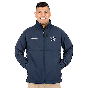 Dallas Cowboys Columbia Ascender Soft Shell Jacket