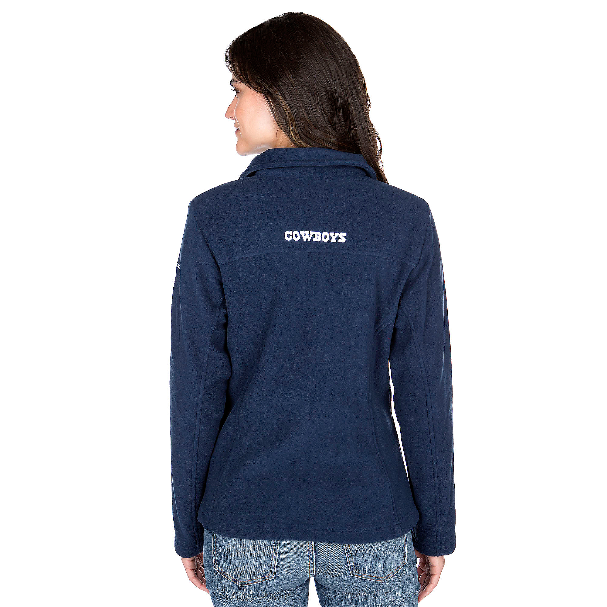 promo code 71116 915d0 Dallas Cowboys Columbia Womens Give And Go Full-Zip Jacket ...