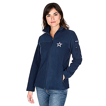 Dallas Cowboys Columbia Womens Give And Go Full-Zip Jacket e0a6492d3