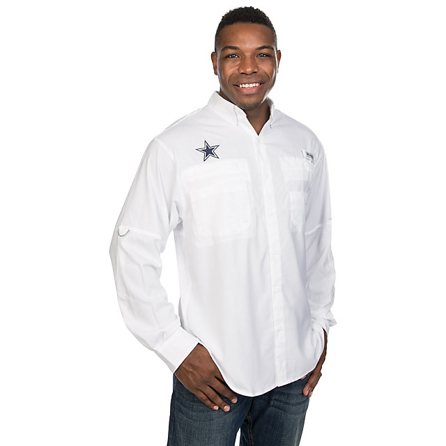 Dallas Cowboys Columbia Tamiami II Long Sleeve Tee
