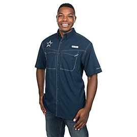 Dallas Cowboys Columbia Low Drag Offshore Short Sleeve Tee