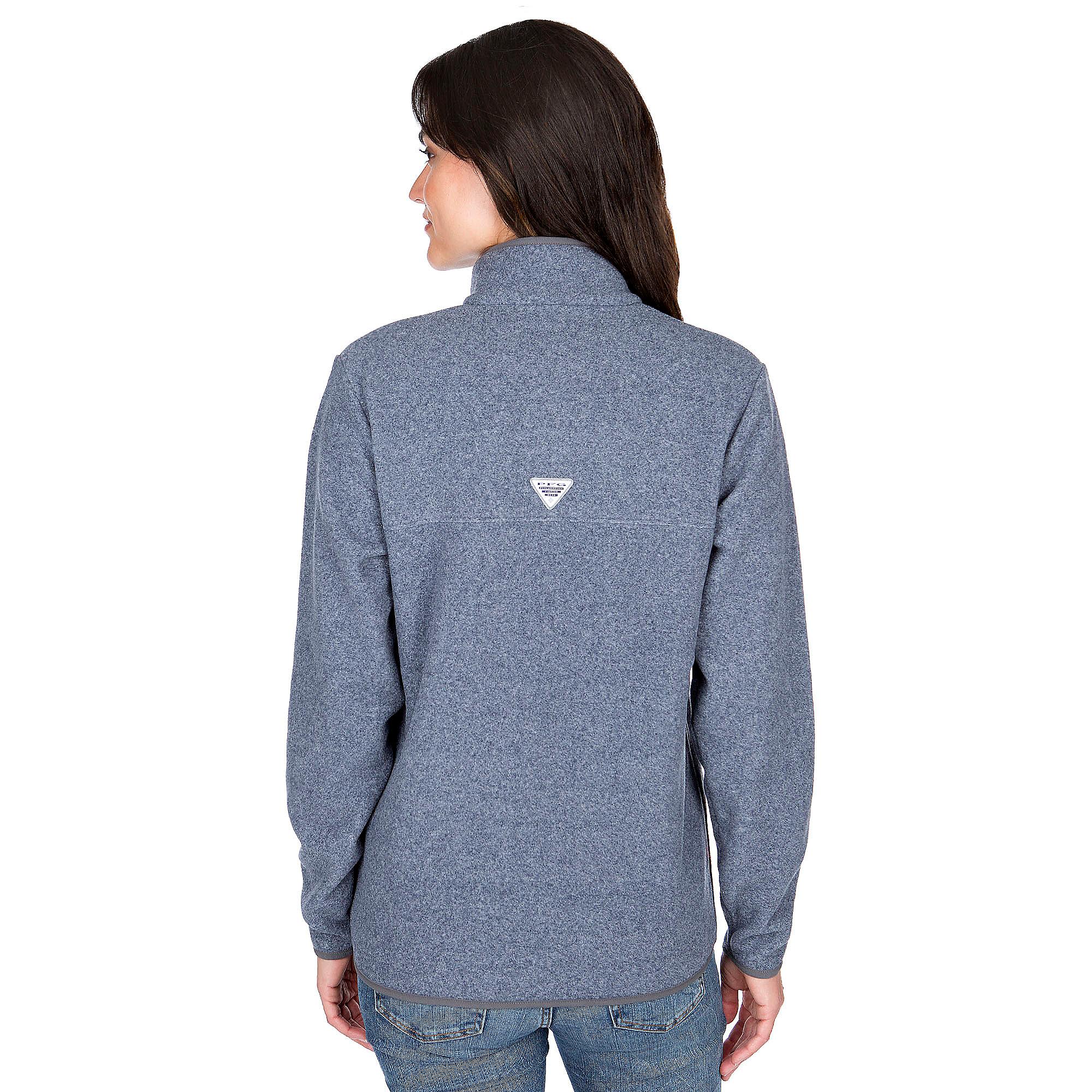 check out e9c25 4b262 Dallas Cowboys Columbia Womens Harborside Fleece Half-Zip ...