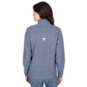 Dallas Cowboys Columbia Womens Harborside Fleece Half-Zip Pullover