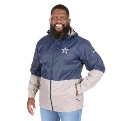 Dallas Cowboys Columbia Mens Roan Mountain Jacket