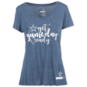 Cowboys Fit Ladies Shooting Star Tee
