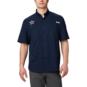 Dallas Cowboys Columbia Mens Navy Tamiami™ Short Sleeve Shirt
