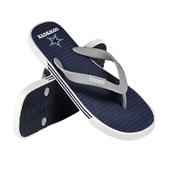 Dallas Cowboys Unisex Athletic Flip Flops