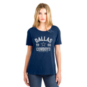 Dallas Cowboys New Era Womens Crew Neck Washed Tee
