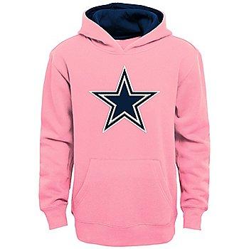 Dallas Cowboys Girls Prime Pullover Fleece Hoodie