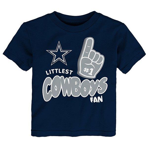 Dallas Cowboys Kids Littlest Fan Tee