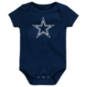 Dallas Cowboys Infant Primary Star Logo Short Sleeve Creeper