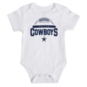 Dallas Cowboys Infant Born to Win 3-Pack Creeper Set