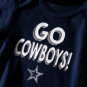 Dallas Cowboys Infant Born to Win 3-Pack Creeper Set