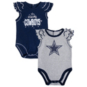 Dallas Cowboys Infant Shinning MVP 2-Pack Creeper Set