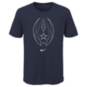 Dallas Cowboys Nike Kids Sideline Icon Short Sleeve Tee