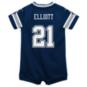 Dallas Cowboys Nike Kids Ezekiel Elliott #21 Game Replica Jersey Romper