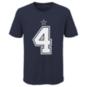 Dallas Cowboys Nike Kids Dak Prescott #4 Name and Number Tee