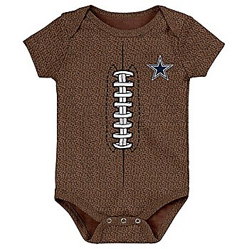 Dallas Cowboys Infant Football Bodysuit