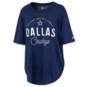 Dallas Cowboys Nike Womens Arch Triblend Tee