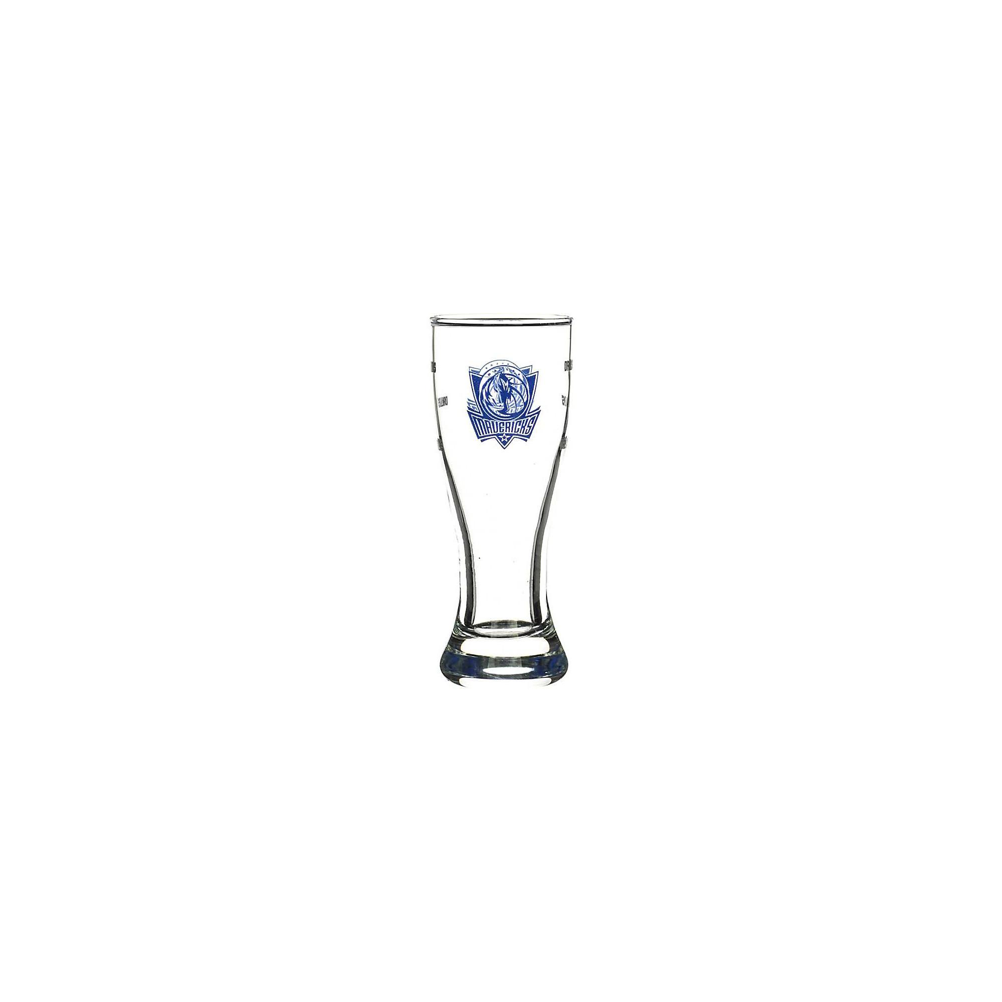 Dallas Mavericks 2.5 oz Satin Etch Mini Pilsner Shot Glass