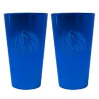 Dallas Mavericks 16 oz Glitter Ice Pint