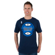 Dallas Mavericks Adidas Center Court Tee
