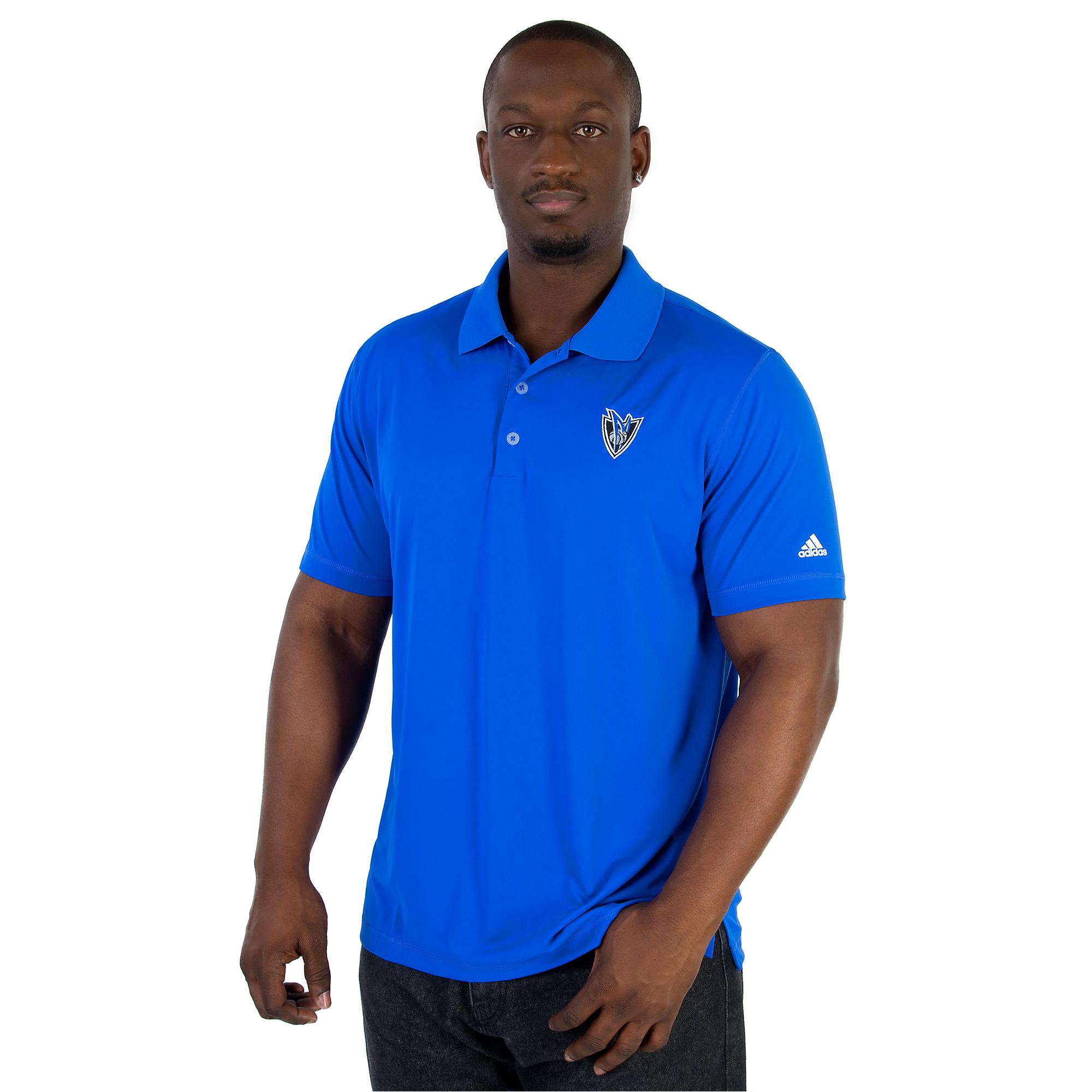 Dallas Mavericks Adidas Golf Polo
