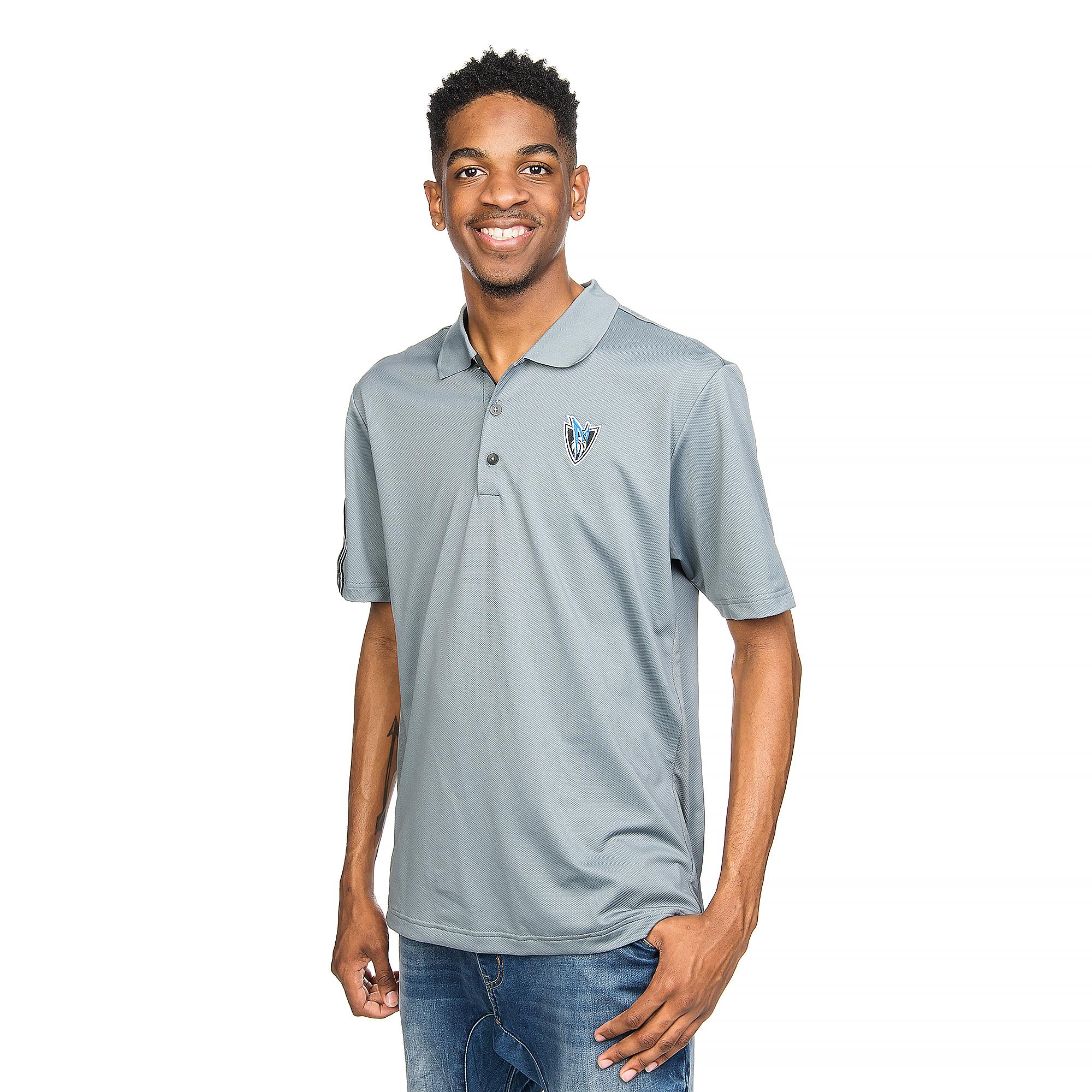 Dallas Mavericks Adidas Golf 3 Stripe Polo