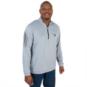 Dallas Mavericks Adidas Golf 3 Stripe Quarter Zip Pullover