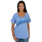 Dallas Mavericks Mitchell & Ness Womens V-Neck Tee