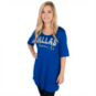 Dallas Mavericks Half Sleeve Colored Tee