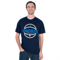 Dallas Mavericks Adidas Pre-Game Graphic Tee