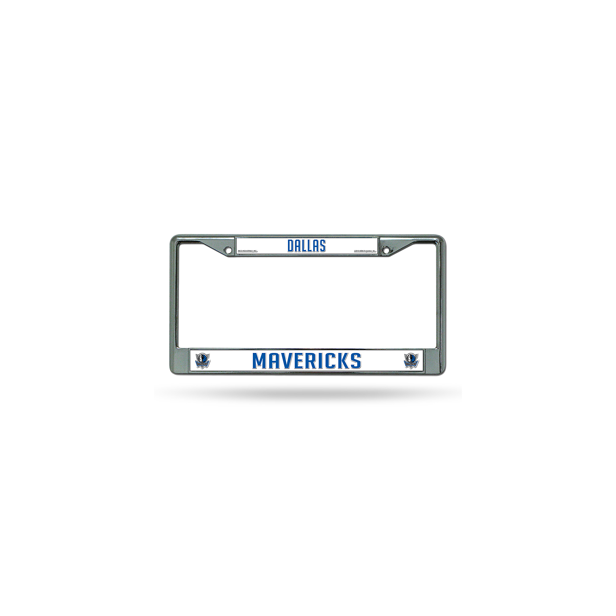Dallas Mavericks Chrome License Plate Frame