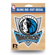 Dallas Mavericks Bling Medium Die Cut Decal