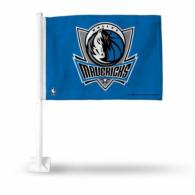 Dallas Mavericks Blue Car Flag