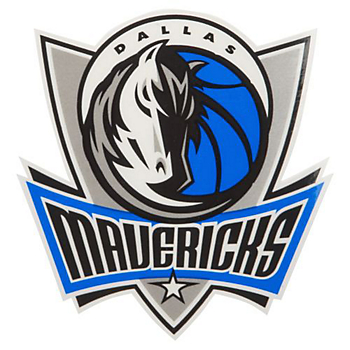 Dallas Mavericks Small Static Decal