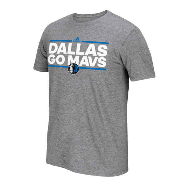 Dallas Mavericks Adidas Neue Phrase Go-To Tee