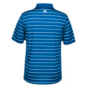 Dallas Mavericks Adidas 2-Color Stripe Polo