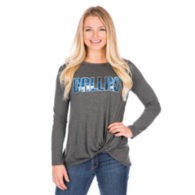Dallas Mavericks Womens Twist Tie Long Sleeve Tee