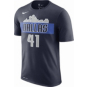 Dallas Mavericks Dirk Nowitzki #41 Nike Dri-FIT Name & Number T-Shirt